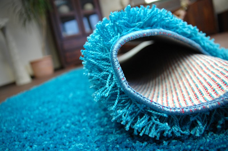 Best quality carpet rug 5cm long shaggy turquoise carpets in all sizes - Tapis shaggy turquoise ...