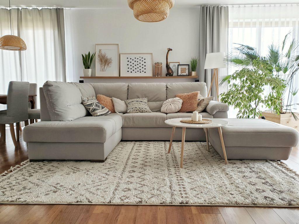 Inspiracje podłogowe do salonu dywany